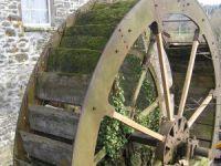 Mill Wheel in the former woollen mill
