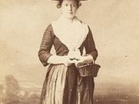 Mrs Price the landlady of the Three Horseshoes Inn Llanwrda (1900)